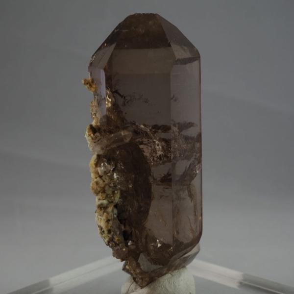 スイス・アルプス産水晶 スモーキークォーツ 大きく美しい結晶|minelura