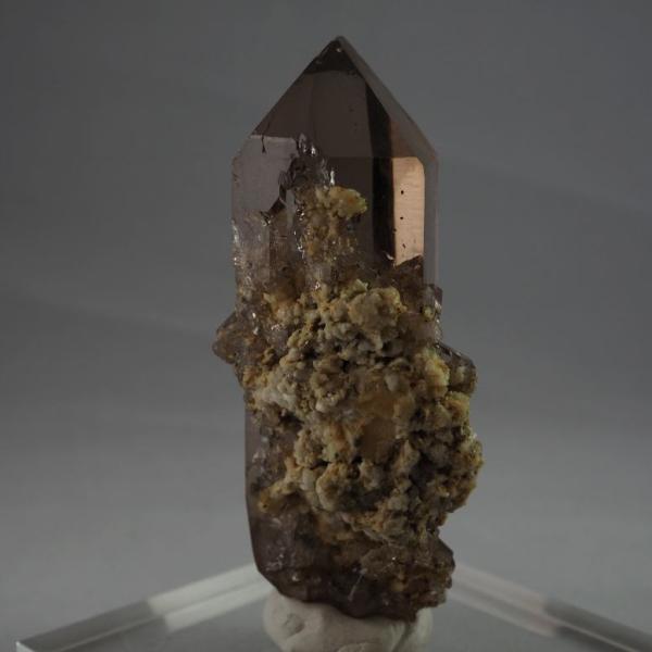 スイス・アルプス産水晶 スモーキークォーツ 大きく美しい結晶|minelura|02