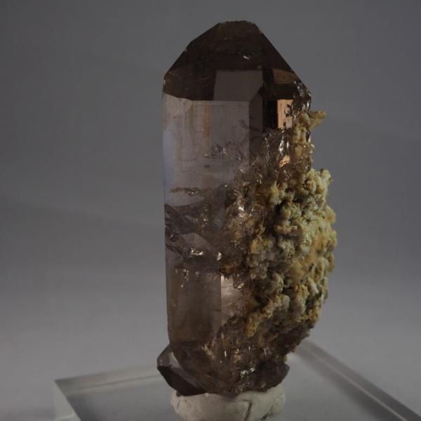 スイス・アルプス産水晶 スモーキークォーツ 大きく美しい結晶|minelura|03
