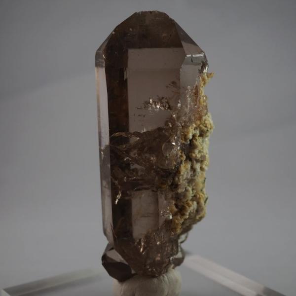 スイス・アルプス産水晶 スモーキークォーツ 大きく美しい結晶|minelura|05