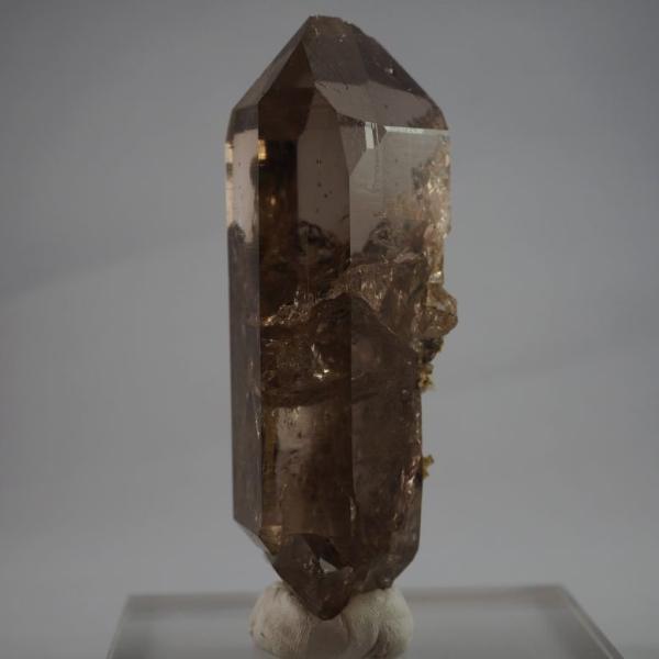 スイス・アルプス産水晶 スモーキークォーツ 大きく美しい結晶|minelura|06