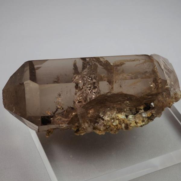 スイス・アルプス産水晶 スモーキークォーツ 大きく美しい結晶|minelura|08