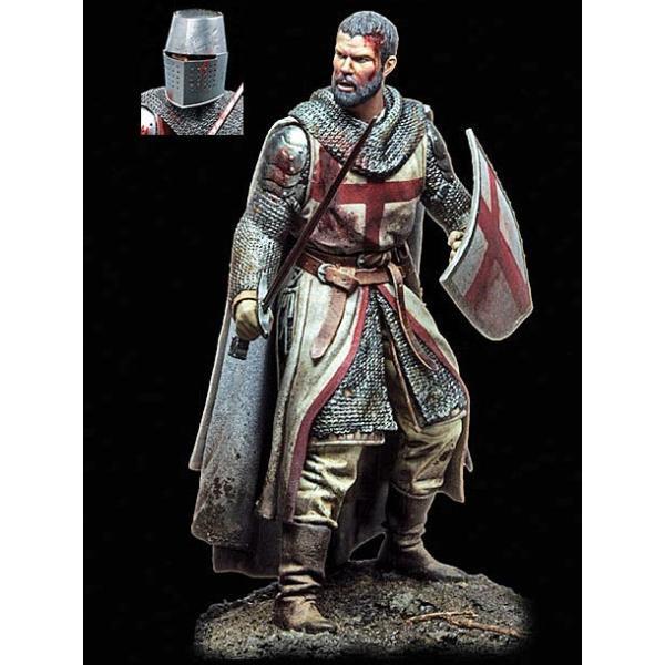 *騎士の時代シリーズテンプル騎士団の騎士,12世紀(ヘッド2個入)AgeofChivalryTemplarKnight,XIIC