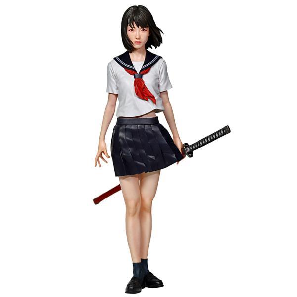 "Girls Weaponシリーズ JK刀  High school girl ""KATANA (weapon)""  1/8[IT-GW0803]【セール対象外】"