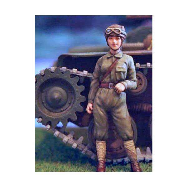日本軍(帝国陸軍) 女性戦車兵 Japanese Army Tank Crew 1/35[ML-043 ...
