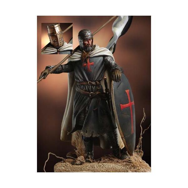 テンプル騎士団の騎士(旗手)12世紀(ヘッド2種入)TEMPLARKNIGHT,BANNERHOLDER.XIICENTURY5