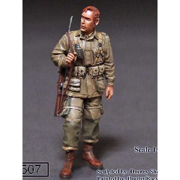 101st Airborne 1//35 Scale resin kit 2nd Lieutenant WW II