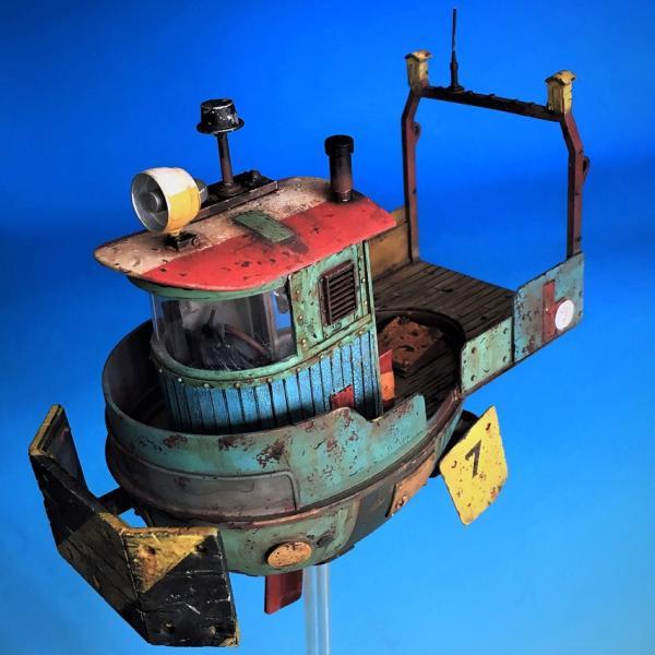 タートル空中タグボート フルキット Turtle Flyning pusher 1/35[UM480]