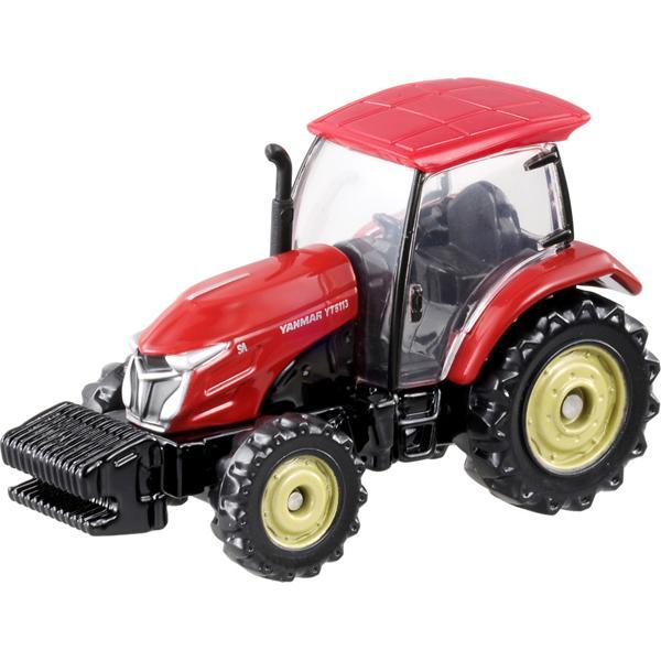 トミカ赤箱83ヤンマートラクターYT5113※2015年新車シール・TAKARATOMYロゴ