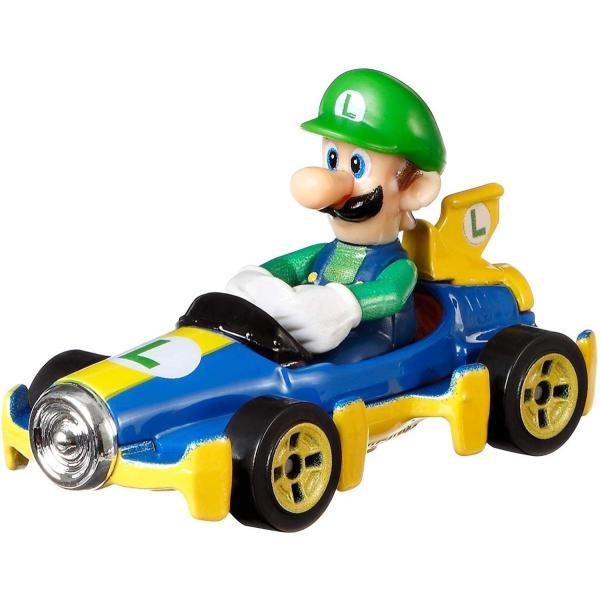 ホットウィール HW マリオカート マテル(MATTEL) ルイージ 2400010044557|minicars