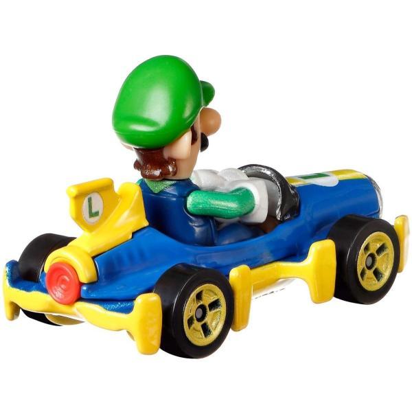 ホットウィール HW マリオカート マテル(MATTEL) ルイージ 2400010044557|minicars|02