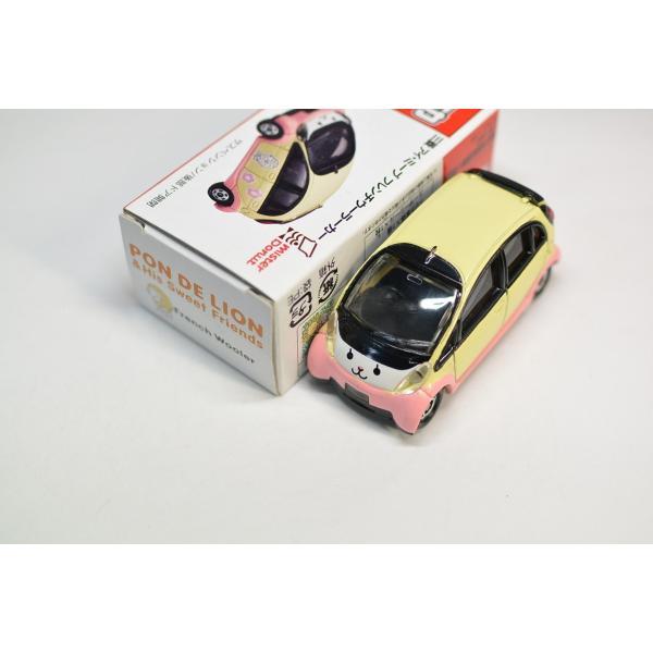 タカラトミー トミカ ミスタードーナツ限定 三菱 アイ・ミーブ フレンチウーラーカー 2009年 ミスド キッズセット G730|minicars|02
