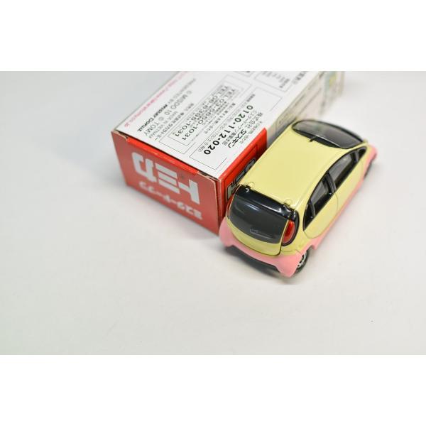 タカラトミー トミカ ミスタードーナツ限定 三菱 アイ・ミーブ フレンチウーラーカー 2009年 ミスド キッズセット G730|minicars|03
