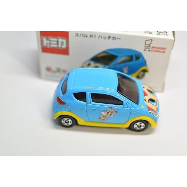 タカラトミー トミカ ミスタードーナツ限定 スバル R1 ハッチカー 2005年 ミスド キッズセット G1104|minicars|04