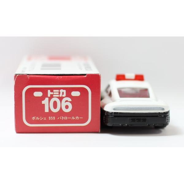 トミカ 日本製 106 ポルシェ 959 パトロールカー  2400010028533|minicars|03