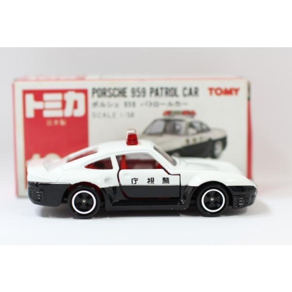 トミカ 日本製 106 ポルシェ 959 パトロールカー  2400010028533|minicars|04