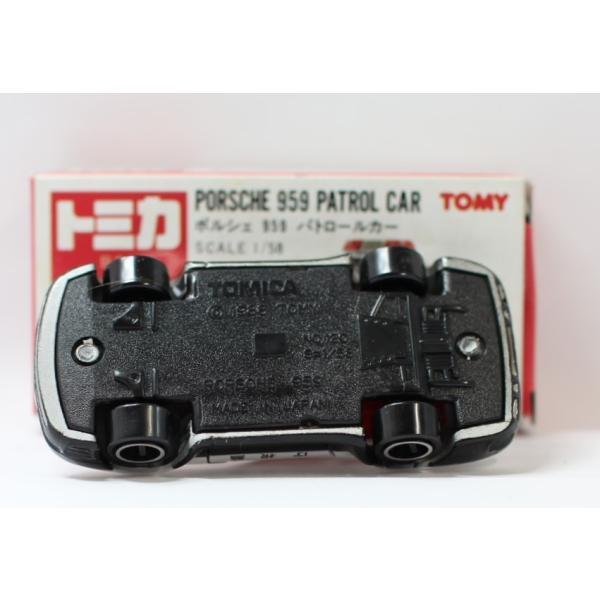 トミカ 日本製 106 ポルシェ 959 パトロールカー  2400010028533|minicars|06