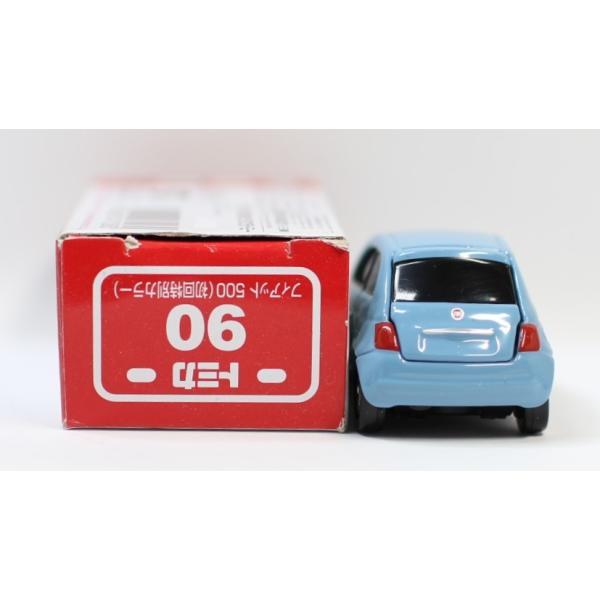 トミカ No.90 フィアット 500 箱 *初回特別カラー マーク切り取り2400010033278|minicars|03
