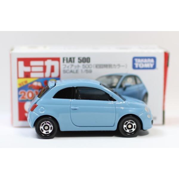 トミカ No.90 フィアット 500 箱 *初回特別カラー マーク切り取り2400010033278|minicars|04