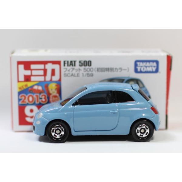 トミカ No.90 フィアット 500 箱 *初回特別カラー マーク切り取り2400010033278|minicars|05