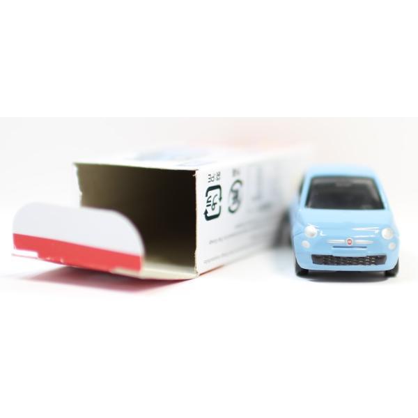 トミカ No.90 フィアット 500 箱 *初回特別カラー マーク切り取り2400010033278|minicars|06