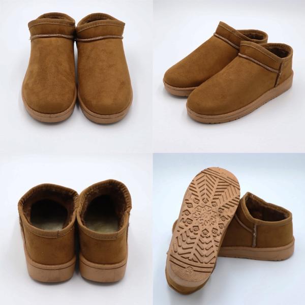 ムートンブーツ レディース ショートブーツ 痛くない 疲れない靴 ブーティ 歩きやすい メ便不可|miniministore|05