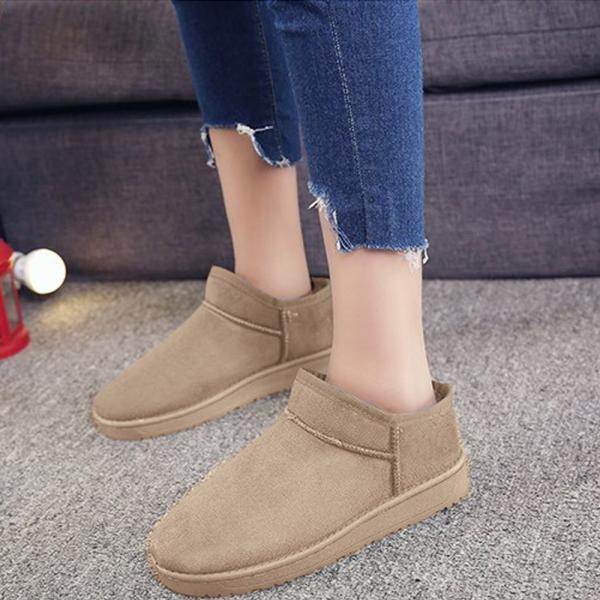 ムートンブーツ レディース ショートブーツ 痛くない 疲れない靴 ブーティ 歩きやすい メ便不可|miniministore|09