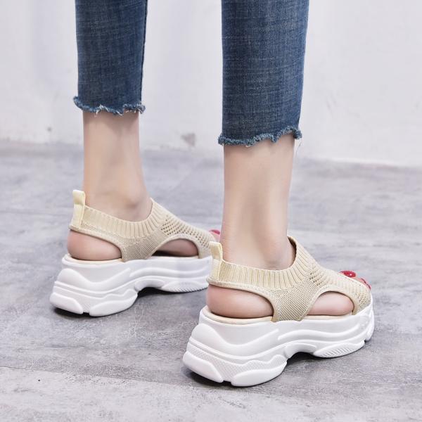 サンダル レディース 厚底 メッシュ スポーツサンダル 通気性 韓国風 カジュアル 歩きやすい|miniministore|12