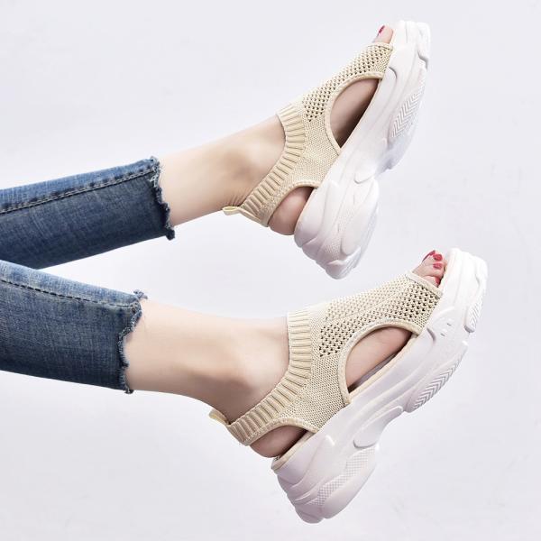 サンダル レディース 厚底 メッシュ スポーツサンダル 通気性 韓国風 カジュアル 歩きやすい|miniministore|05