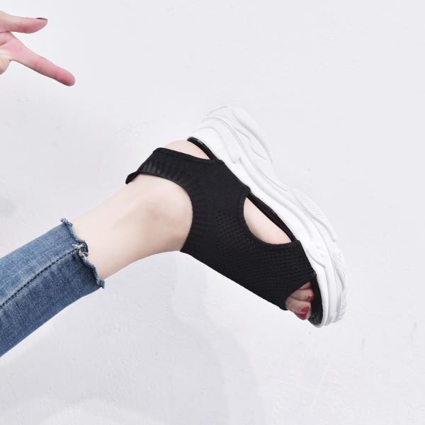 サンダル レディース 厚底 メッシュ スポーツサンダル 通気性 韓国風 カジュアル 歩きやすい|miniministore|08