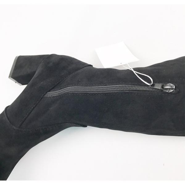 レディースブーツ ニーハイブーツ ロングブーツ 大きいサイズ 太ヒール 美脚