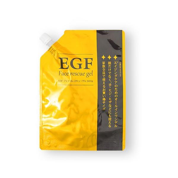 EGF #BC フェイスレスキュー フェイスレスキューゲル EX 500ml (オールインワン美容液ジェル) minnanohappiness