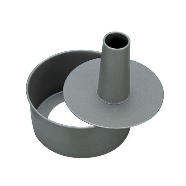フッ素樹脂 ベイクウェアー シフォンケーキ型 底取 15cm ケーキ焼き型(8-1041-0201)