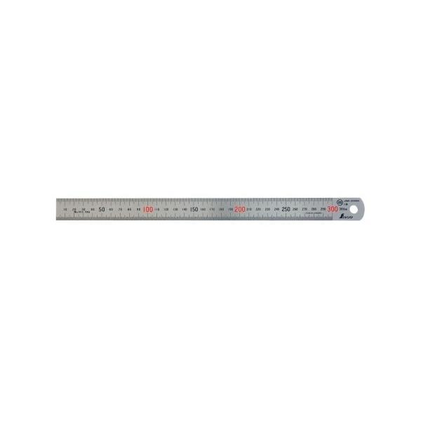 ステン直尺  30cm No.14028(8-1092-2401)