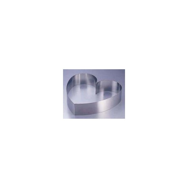 SA18-8 ウェディングケーキ用リング ハート 小(8-1034-0403)