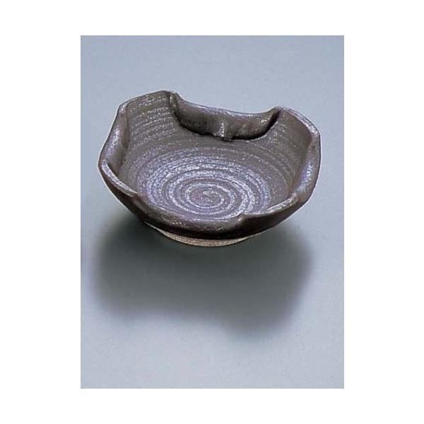 石焼黒折り込灰皿T03-73(8-1963-1601)