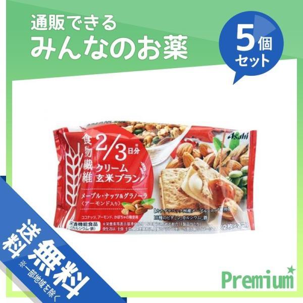 1個あたり358円 バランスアップ クリーム玄米ブランメープルナッツ&グラノーラ 72g ((2枚×2袋)) 5個セット|minoku-premium