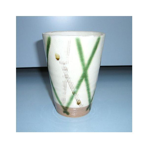小名田カンパニー 美濃焼 三彩 フリーカップ(幸兵衛窯) |minoyakisquare