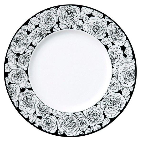 STUDIO 010 美濃焼 Rose(ローゼ)27cmディナープレート 白磁 国産 白い皿 20%OFF|minoyakisquare