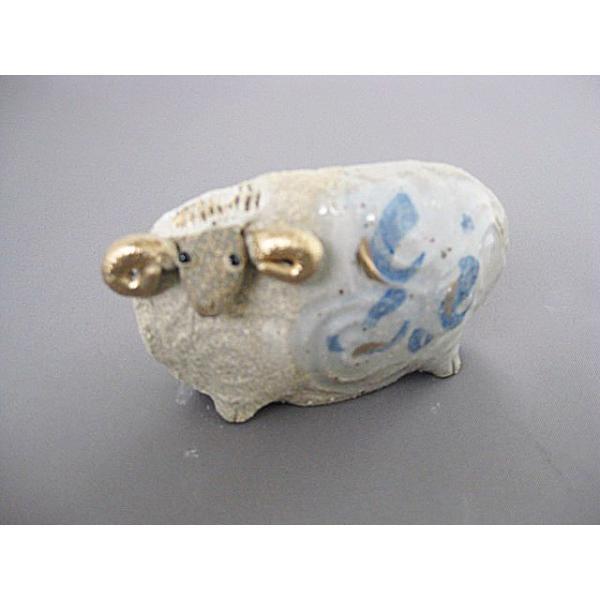 碗碗館 美濃焼 国産 干支 手造り羊ゴス白 小 20%OFF ラッピング可|minoyakisquare