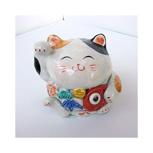 碗碗館 美濃焼 国産 手造り 赤絵招き猫 大 鯛 20%OFF ラッピング可|minoyakisquare