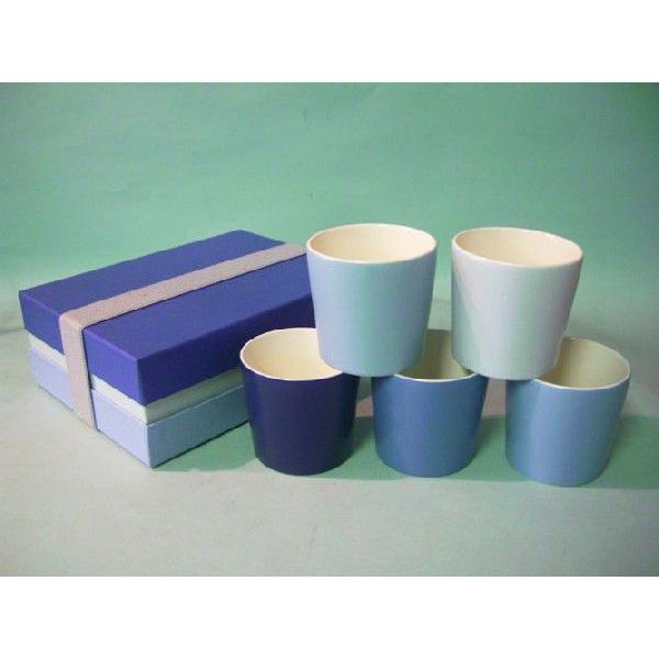 雅東窯 美濃焼 Yoko Maruyama グラデーション フリーカップ(BL) Design Gift 花言葉 感謝 国産 20%OFF ラッピング可|minoyakisquare