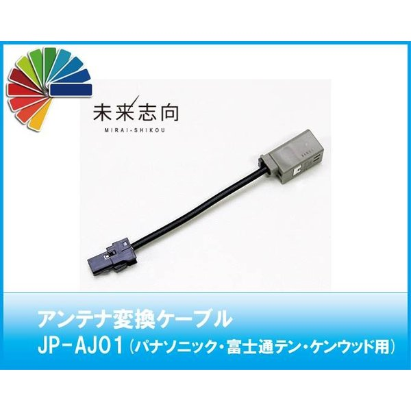 アンテナ変換ケーブル JP-AJ01 GT13(車両側)→SMK VR1(ナビ側)