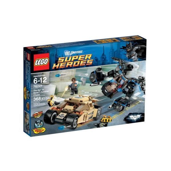 スーパーヒーローズ 76001 バットマン VS ベイン タンブラー・チェイス