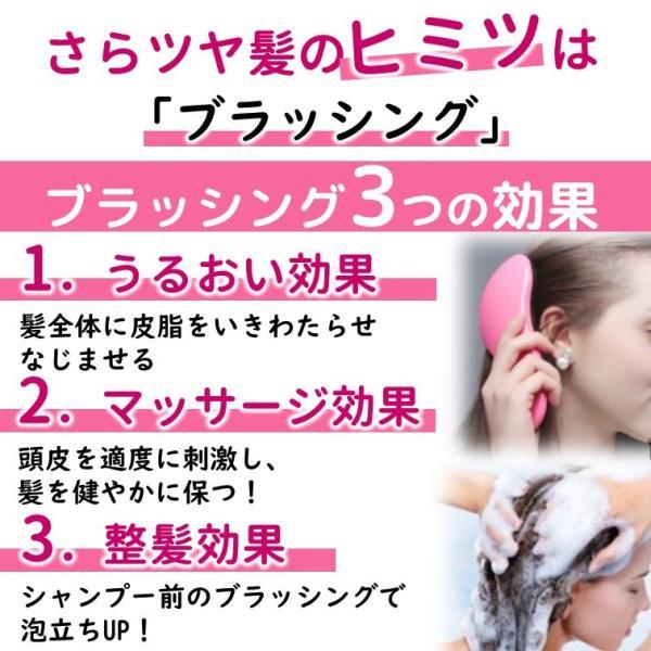 ブラシ 魔法の ヘアブラシ 絡まない 艶髪 ヘアケア サラサラ くし オープン記念 セール|miriimerii|07