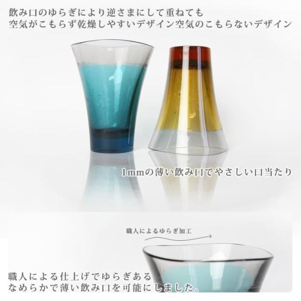 名入れ ペアギフト YAMANAMI GLASS(木箱入り)|mirukuru|05