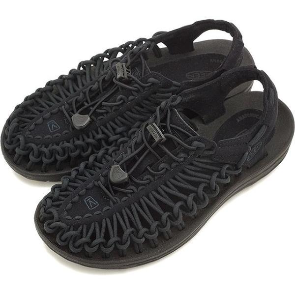 KEENキーンレディースサンダル靴UNEEK3CWOMENユニークスリーシーBlack/Black1014099