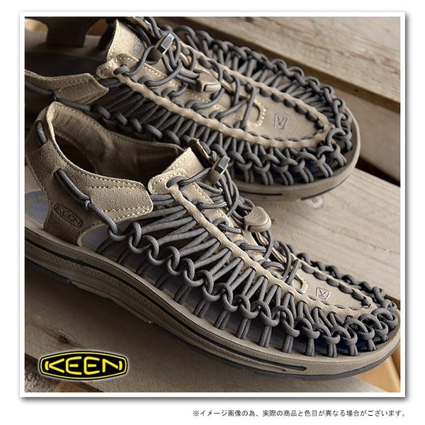 KEEN キーン KEEN メンズ サンダル ユニーク メンズ Brindle/Magnet  1013087 SS15|mischief|02