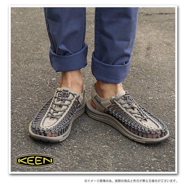 KEEN キーン KEEN メンズ サンダル ユニーク メンズ Brindle/Magnet  1013087 SS15|mischief|06