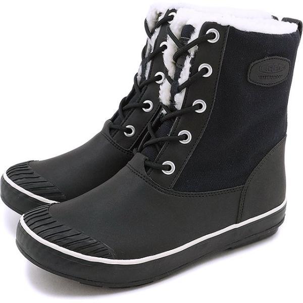 キーン KEEN レディース ウィンターブーツ スノーブーツ Elsa L Boot WP WMN ウィメンズ Black  1015633 FW16|mischief